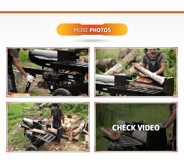 Zuverlässige Hersteller Schnelle Log Splitter Aus China