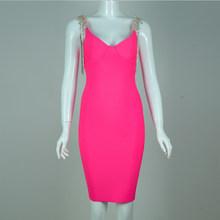 Платье-комбинация для зачистки с бусинами, черное, розовое, красное, квадратный воротник, коктейльное платье без рукавов во французском сти...(Китай)