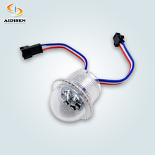 방수 DC24V 6leds smd3535 UCS1903 26mm rgb led 픽셀 빛
