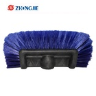 Flow Thru Dip Car Wash Brush Head With Soft Bristle for Auto RV Truck Boat Camper Exterior 10 inch Car Washing Cleaning