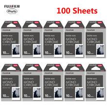 Пленка Fujifilm Instax Mini 10-100 листов черно-белая монохромная пленка для камеры моментальной печати Fujifilm Instaxmini 8 7s 25 50s 9(Китай)