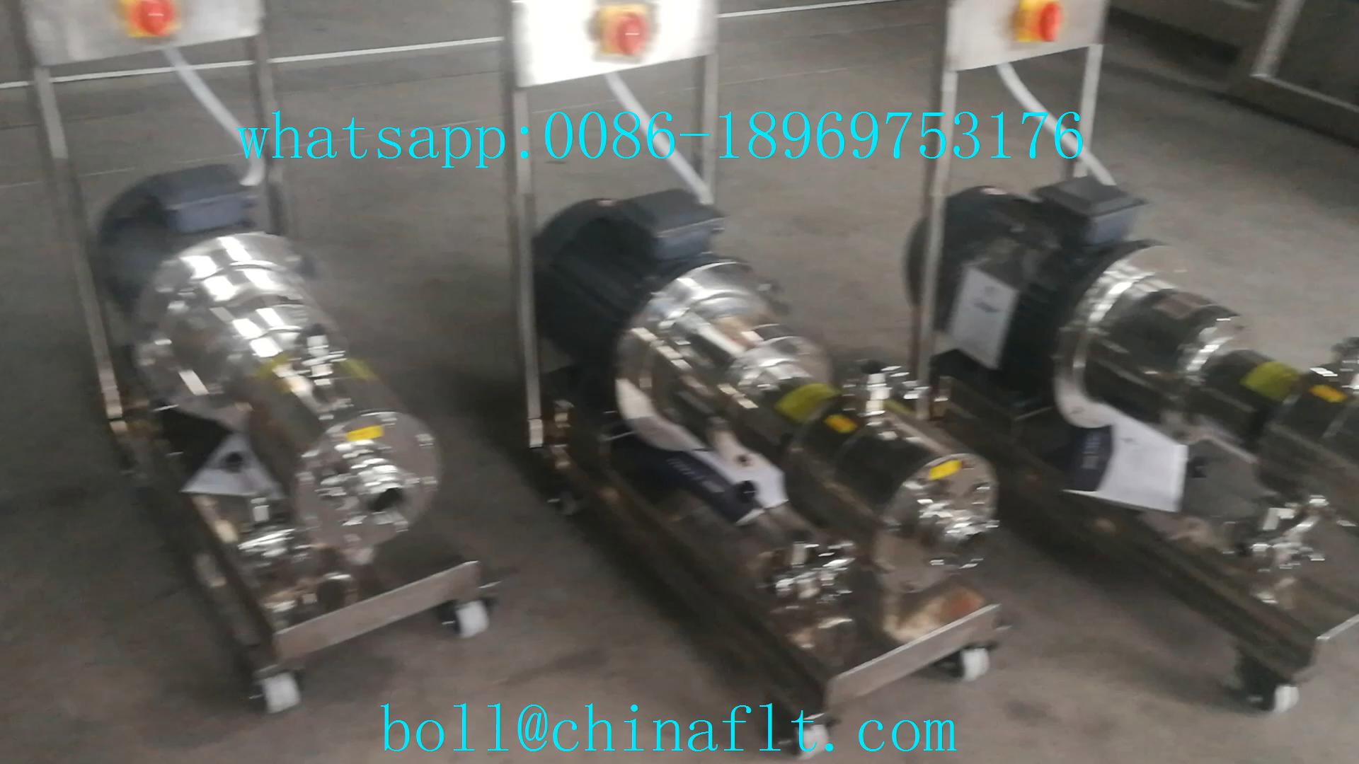 Boa qualidade inline high shear mixer com CE aprovado