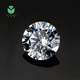 henan manufacture natural round cut lab created loose diamond gemstone