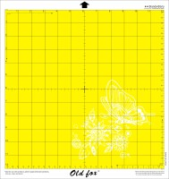 8 by 12 Inch Standard Grip Replacement Cutting Mat For Cricut And Silhouette