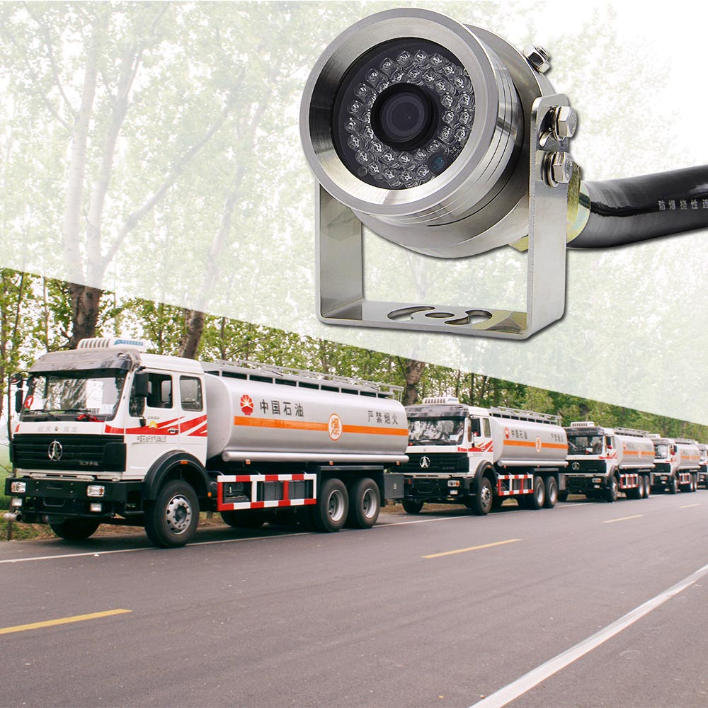 Epark 304 Stainless Steel Explosion Proof Heavy Duty Backup Car Reverse <strong>Camera</strong> For Oil Tank Truck