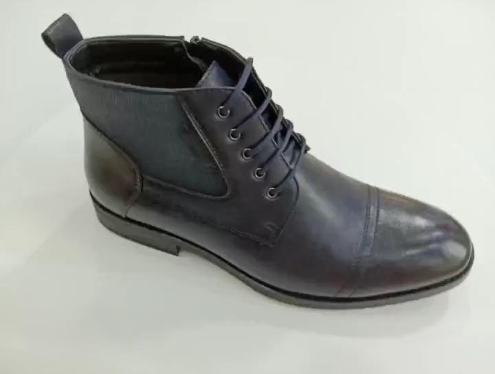 Outdoor Nuovo Stile Poco Costoso di Inverno Piatto Dell'unità di elaborazione Della Caviglia Casuale Scarpe Da Uomo Stivali