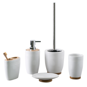 Wholesale Ceramic Toilet Accessory Bathroom Sanitary Ware Items Set