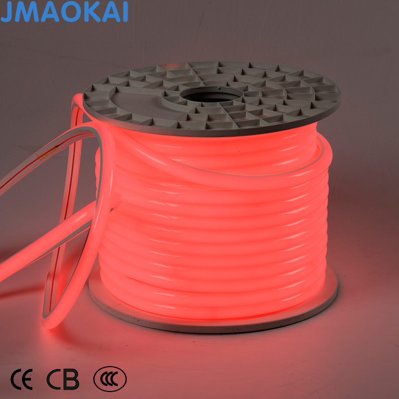 Hot Sale String Wall Steel Wire Lighting Neon LED Rope Light Strip LED Flexible Light