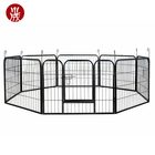 The Black Metal Kennel Wholesale wire dog cages