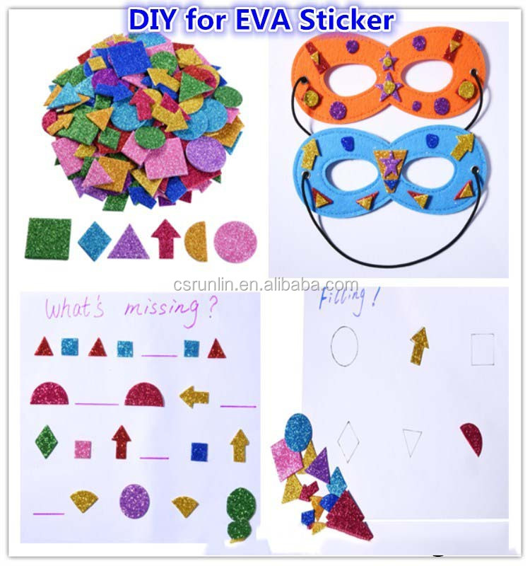 DIY eva toy,diy eva decoration wholesale