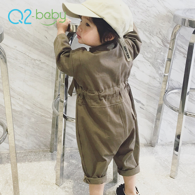 Q2-<strong>baby</strong> Super September Newborn Clothes Soft Cotton Long Sleeve Toddler <strong>Baby</strong> <strong>Jumpsuit</strong>