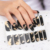 Factory supply High quality long lasting nail stickers Oem 100% real nail polish sticker professional