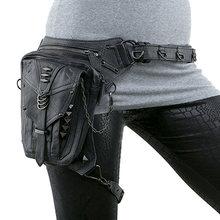 Поясная Сумка для мотоцикла, Женская поясная сумка в стиле стимпанк, сумка через плечо для мотоциклистов и байкеров, Готическая мужская сум...(Китай)