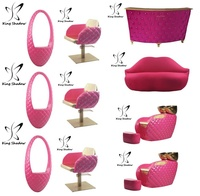 Wholesale salon furniture hair salon chairs styling chairs for lady