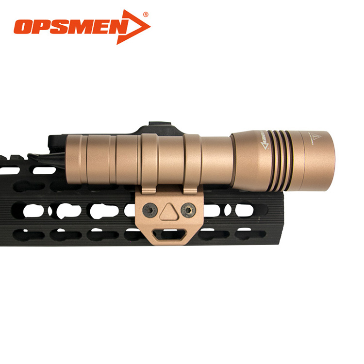 Opsmen FAST 502R/K/M Weapon-Mounted Light for PICATINNY/K-MOD/M-LOK system tactical LED flashlight