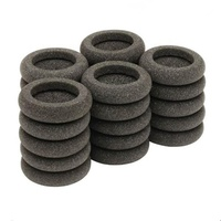 Free samples 2.2 inch 56mm foam ear pad replacement foam ear cushion for call central headsets