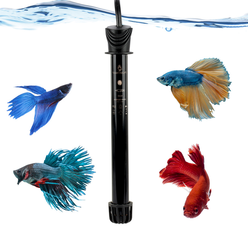 Heto  Pre-set Heater aquarium water heater, glass heater aquarium, fish aquarium heater.200W