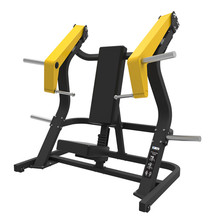 Heavy duty placa carregada incline chest press