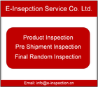China CCIC SGS inspection agent Video third final pre-shipment Inspection Service