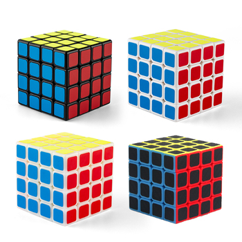 6.2CM Fourth order 4x4x4 ABS Speed Standard Competition Magic Cube