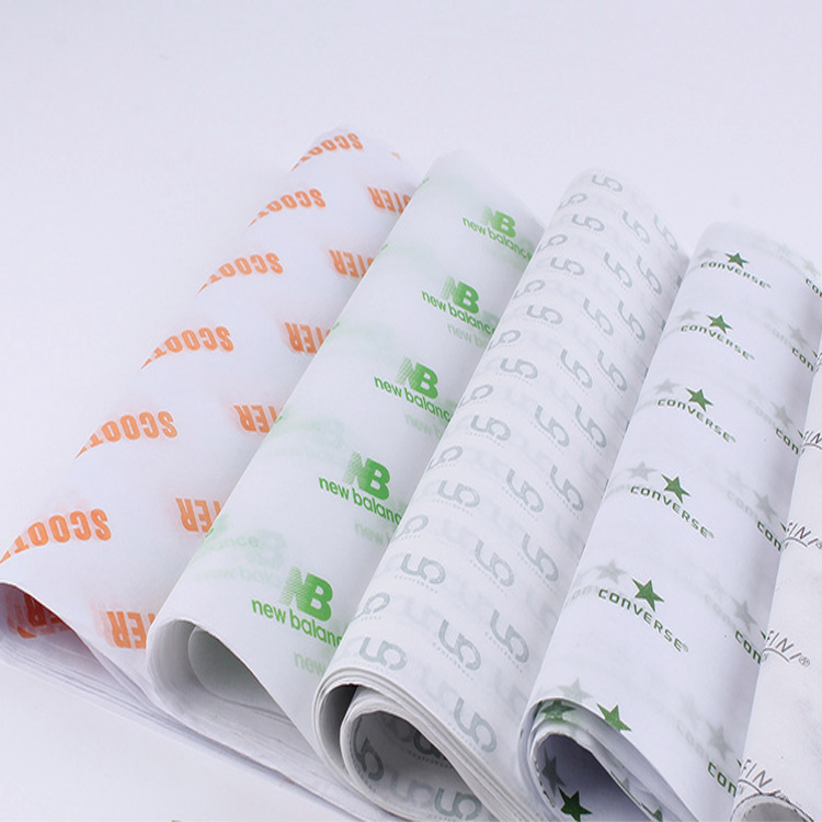 High Quality Wholesale Custom ECO Printed Logo Wrapping Tissue Paper