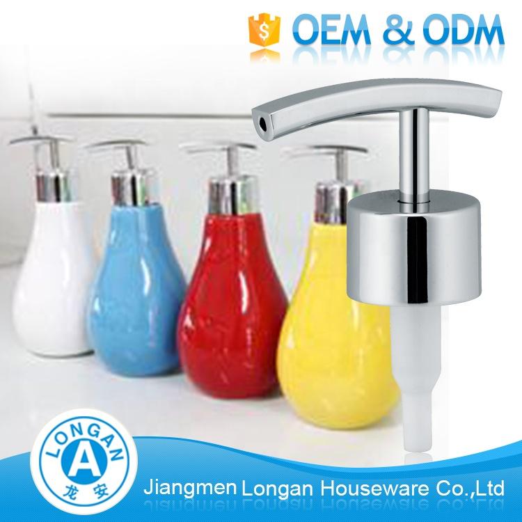 OEM ODM Custom 28 2Cc Zinc Alloy Liquid Hand Wash Soap Pump Stopper For Bottle Pump Dispenser Manufacturer In China