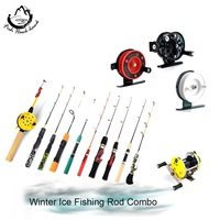 Winter Ice Fishing Rod with Ice Fishing Reel C.W 3-40G Casting/Rod Combo For Winter Ice Fishing