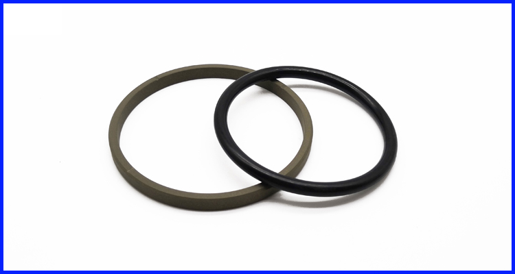 Hydraulic Seals D Ring Bronze Filled with PTFE