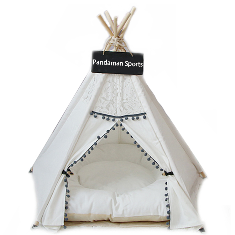 2019 New Design Luxury Dog Sleeping <strong>Beds</strong> House Indian Pet Teepee Tent