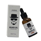 2019 New Amazon Hot Selling Organic 30ml Beard Essential Oil Argan Jojoba Oil For Men