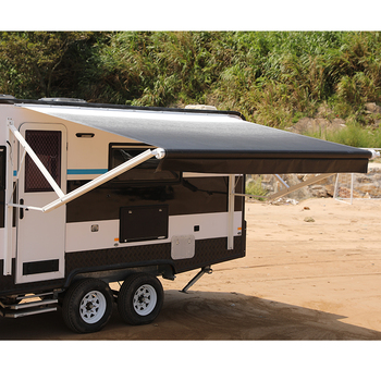 Motorized Rv Roll Out Camper Trailer Caravan Awning - Buy ...