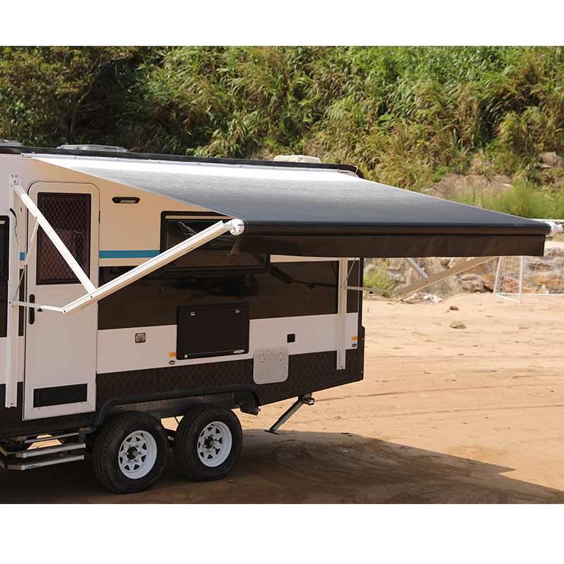 Durable Roll Out Motorhome Awning Motorized Rv Awning ...