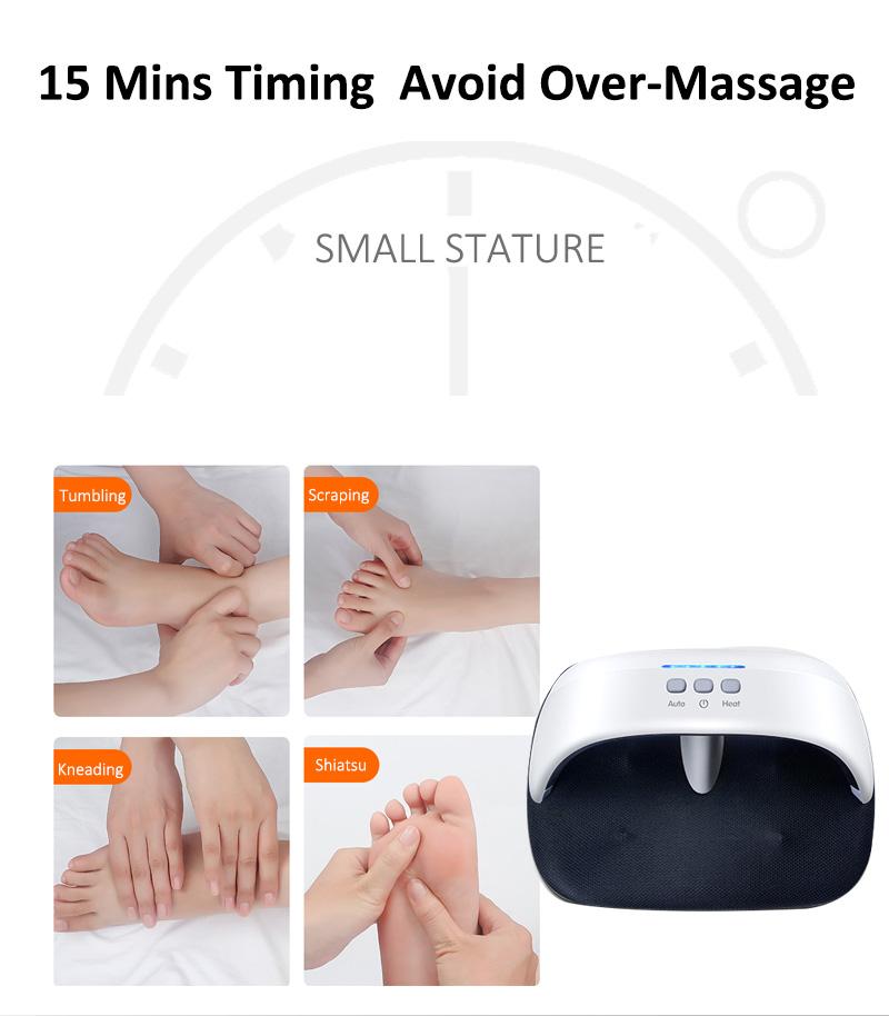 Elektrische fernen infrarot kneten Air fuß bein wärmer massager