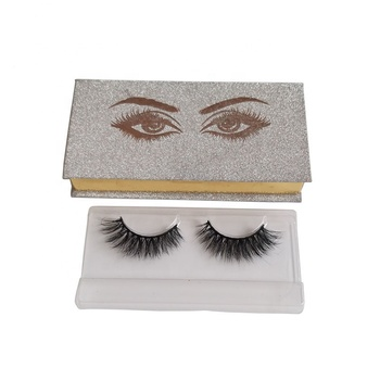 Wholesale Custom Luxury Eyelashes Package Box 3d Fake Private Label Mink Eyelashes