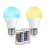 7W A60 RGBW LED Light Bulb Wireless Remote Control Dimmable RGB LED Bulb