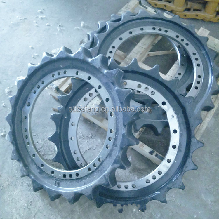 Hot selling crawler chassis drive wheel with low price