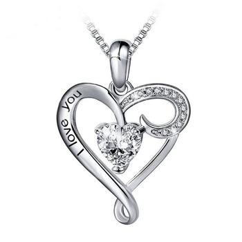 Amazon Hot Sale 925 Silver Necklace Mothers Day Gift Cute Anniversary Necklace Gift For Girlfriend Buy Cute Anniversary Necklace Gift For Girlfriend Mothers Day Wholesale Gifts Valentines Day Gifts Product On Alibaba Com