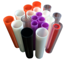 OEM Customized factory Plastic ABS PMMA PVC extrusion profile