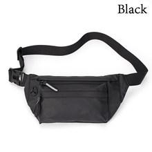 Простая мужская и женская поясная сумка Fanny Pack, 6 цветов, водонепроницаемая нагрудная сумка для спорта на открытом воздухе, сумка через плечо...(Китай)