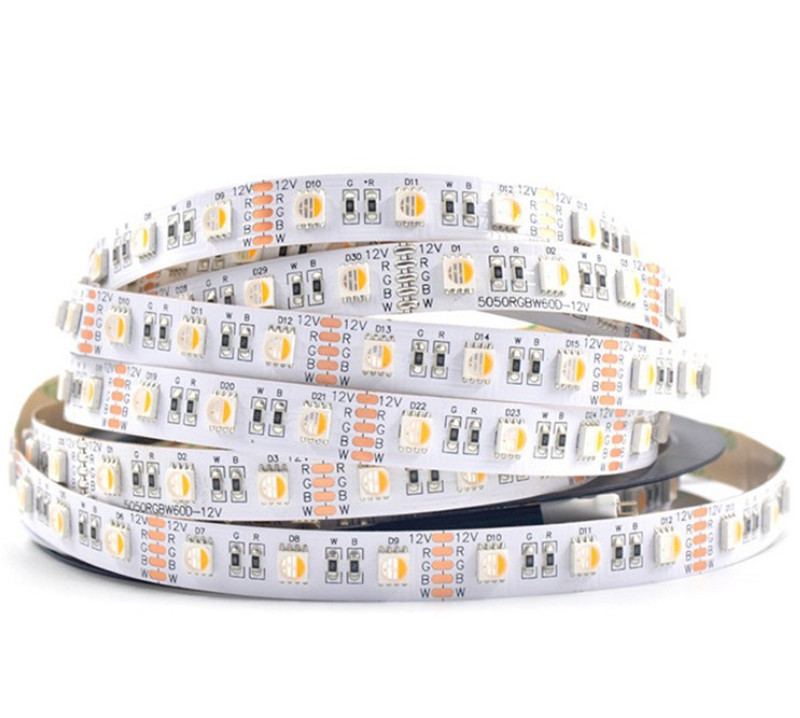 Wholesale price 5050 rgbw 60leds/m led strip 4in1 the best selling products for commercial lighting