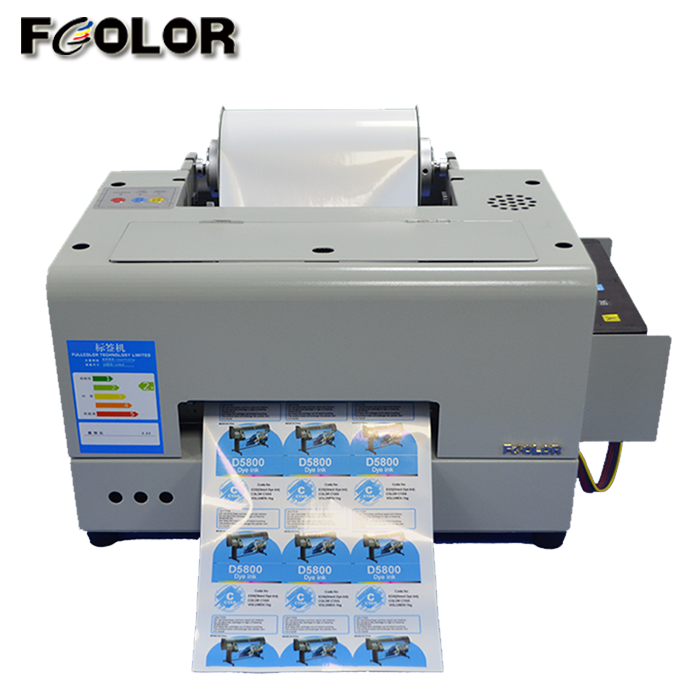 New Upgrade A4 Size Inkjet Sticker Printer Roll To Roll Label Printing Machine