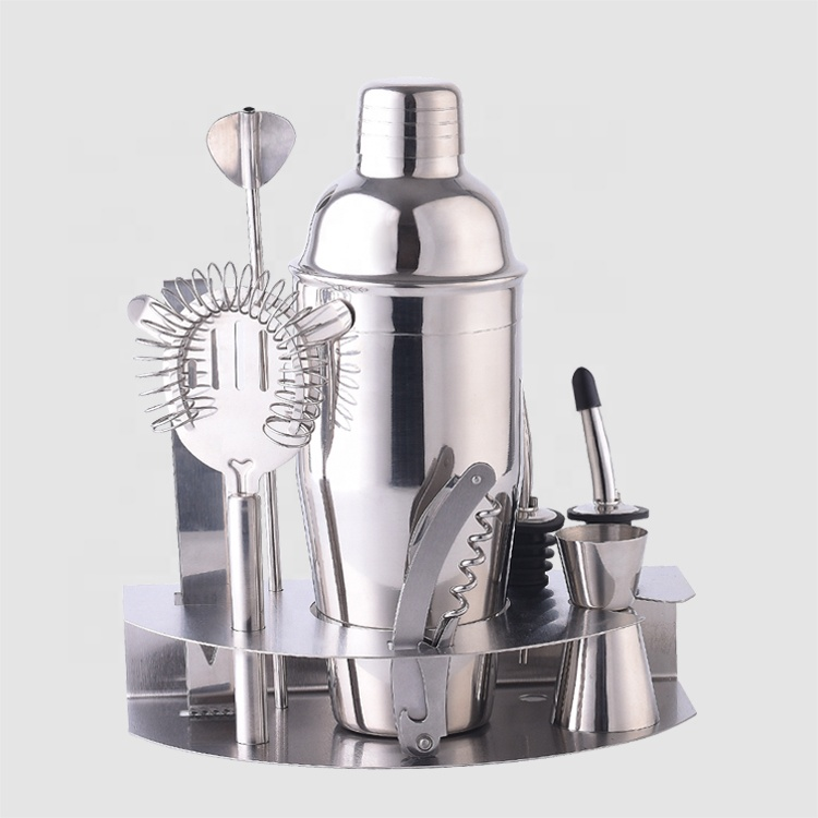 Creation cocktail shaker mixing bar tools barware bartender set