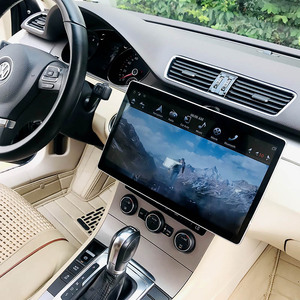 NaviHua Tesla Screen 12.8 inch Android 8.1 auto system 2 din GPS Navigation universal car dvd player PX6 360 turn IPS car radio