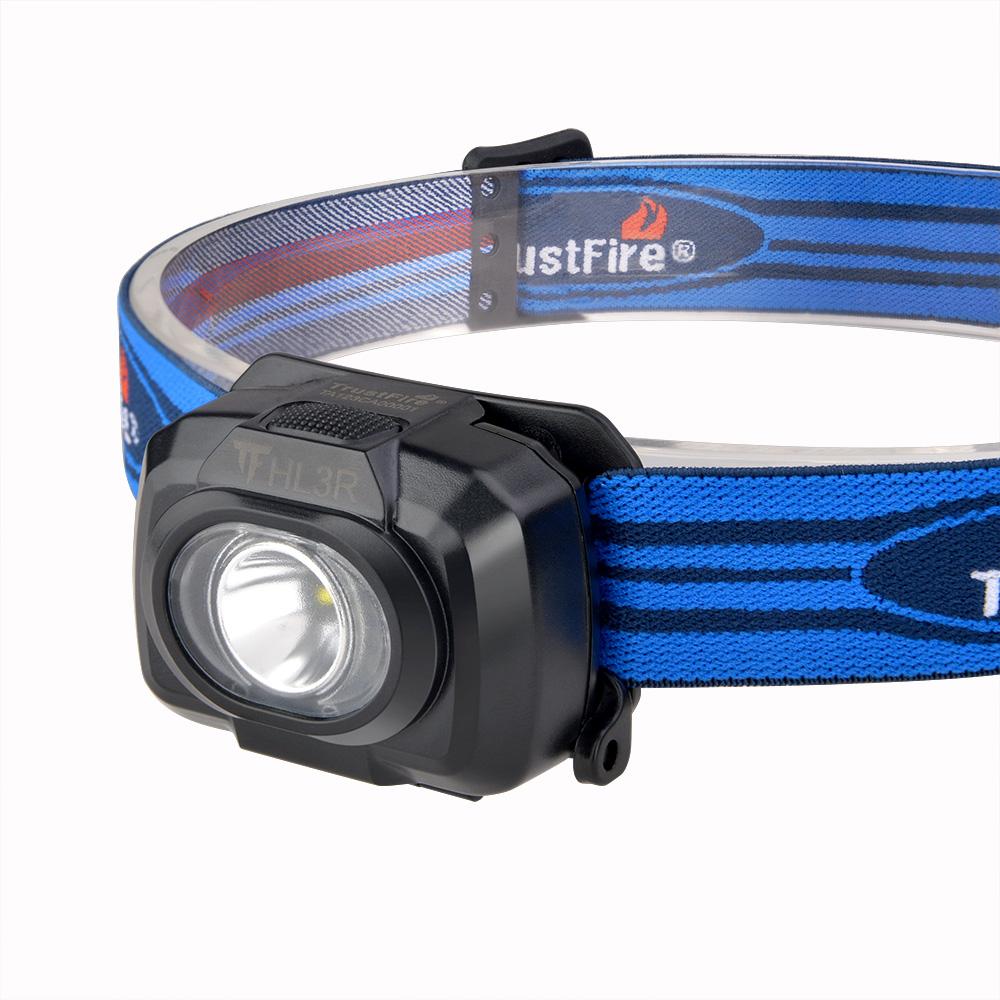 Trustfire Hl3r Rechargeable Bike Headlamp Hunting Led Headlight Head Lamp Flashlight Led Headlight