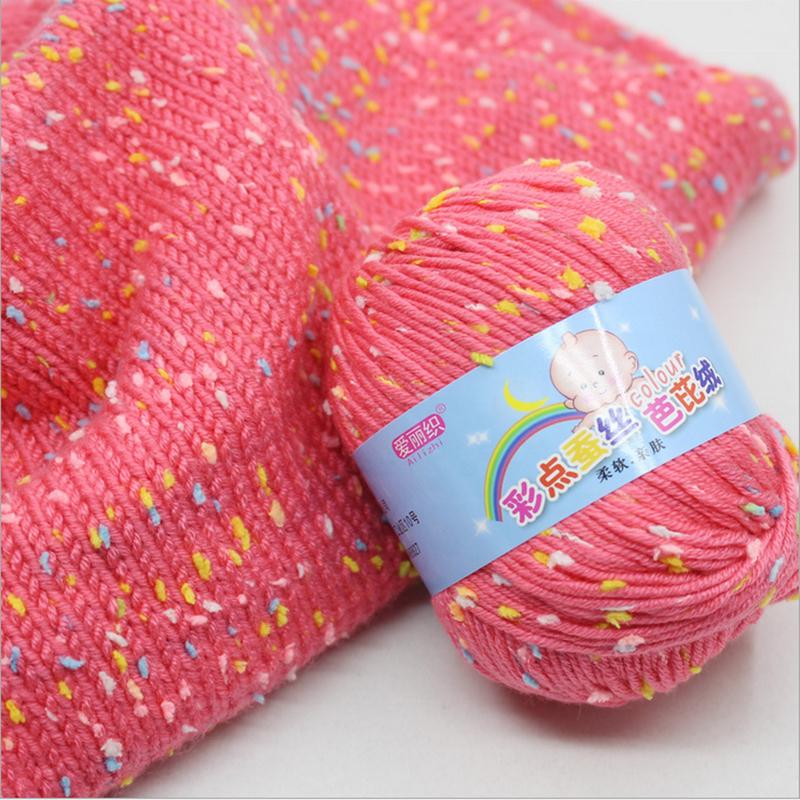 2019 Hot Sale Acrylic Wool Baby Knitting Yarn for Hand Knitting