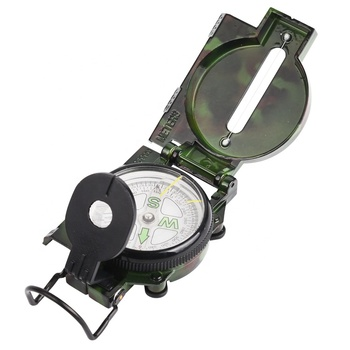 Professional manufacture military use map magnetic custom orienteering glow in the dark compass