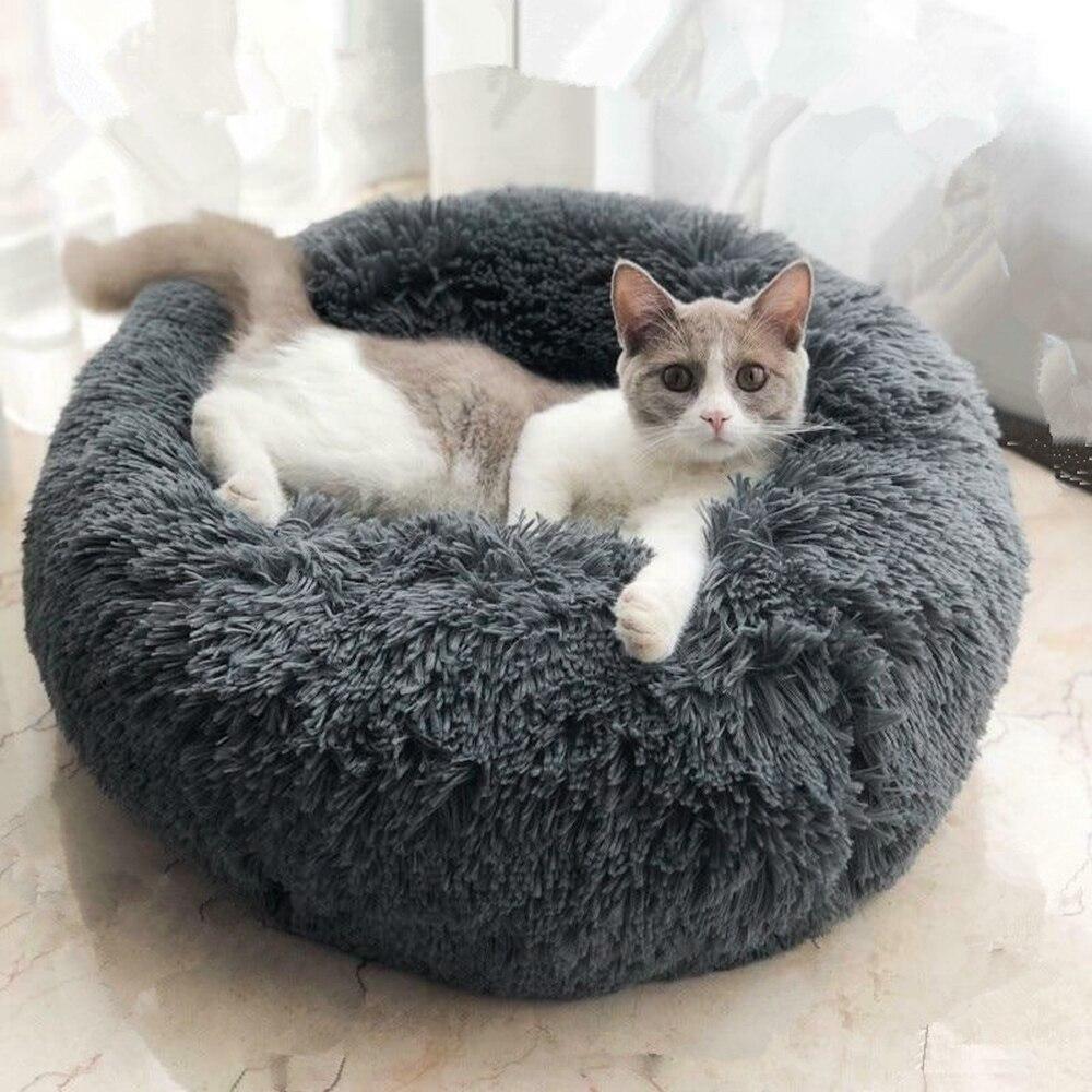 शराबी लंबे आलीशान पालतू कंबल कुत्ता बिल्ली बिस्तर मैट गहरी सो नरम पतली गर्मियों में सर्दियों बिस्तर के लिए शामिल किया गया