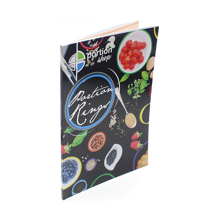 Food menu Softcover Custom print Flyer/Leaflet/Catalogue/Booklet printing,cheap book,brochure printing service
