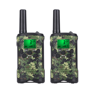 Walkie Talkies for Adults Long Range 2 Pack 2-Way Radios Up to 5 Miles Range in Open Field 22 Channel UHF Handheld Walkie Talky