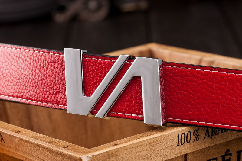 Competitive Price Most Popular Slider Buckle Leather Belt Casual Pu Leather Belt